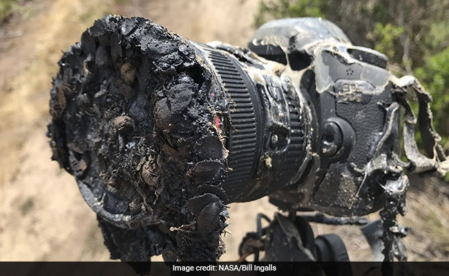 A NASA camera melted but its epic photos survived