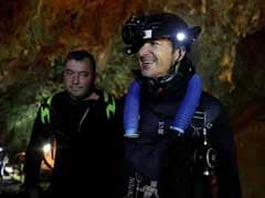 In Search For Boys Lost In Cave, Thai Navy Divers Widen Passage