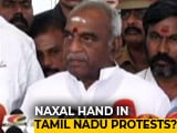 Video : Union Minister Pon Radhakrishan Sees Maoist Hand In Tamil Nadu Protests