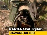 Video : 6 Jharkhand Jaguar Force Jawans Killed In Landmine Blast, Several Injured