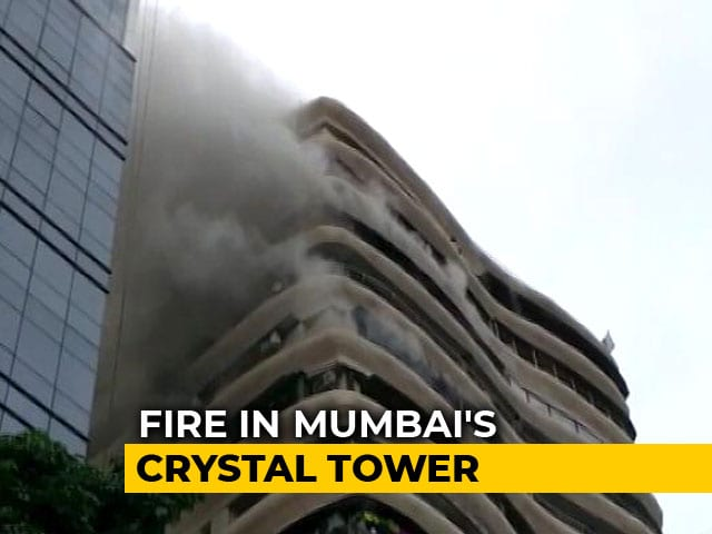 "Video : 4 Dead, Many Injured In Mumbai Fire, Apartments Declared ""Unsafe"""