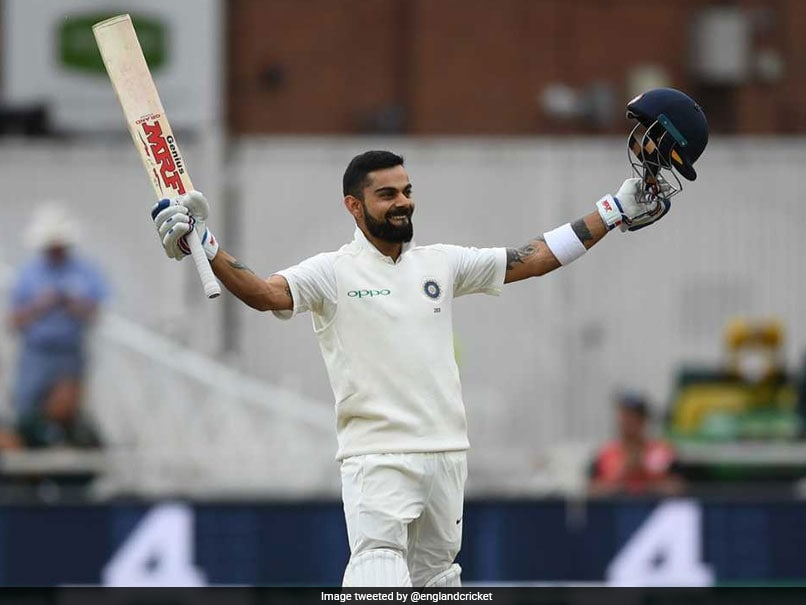 India vs England: King Kohli Hit Ton, India Set Big Target