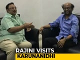 Video : Rajinikanth Visits Karunanidhi In Hospital, Prays For His Speedy Recovery