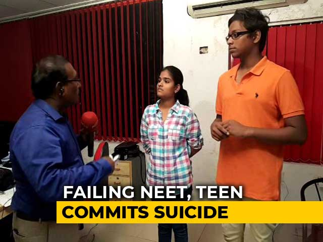 Video : Suicide By Medical Aspirants Revives Demand To Abolish NEET