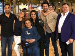 Inside Neetu Kapoor's Birthday In Paris. How Cute Are Ranbir And Samara?