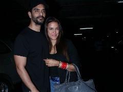 Newlyweds Neha Dhupia And Angad Bedi Return From The US. No, They Weren't On Honeymoon