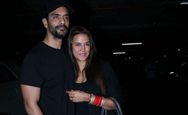 Newlyweds Neha Dhupia And Angad Bedi Return From The US. No, They Weren't On Honeymoon