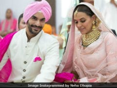Angad Bedi Addresses Rumours That Wife Neha Dhupia Is Pregnant