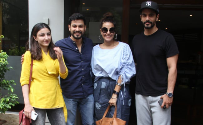 Soha Ali Khan, Kunal Kemmu Went On A Double Date With Neha Dhupia, Angad Bedi