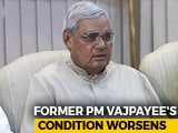 Video : Atal Bihari Vajpayee Remains On Life Support, Top Leaders Visit Him