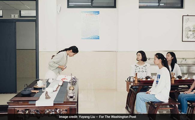 'Hold In Belly, Legs Together': Chinese College Teaches Girl Students