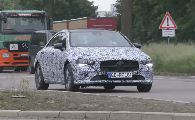 The next-gen Mercedes-Benz CLA will come with a host of cosmetic and features update
