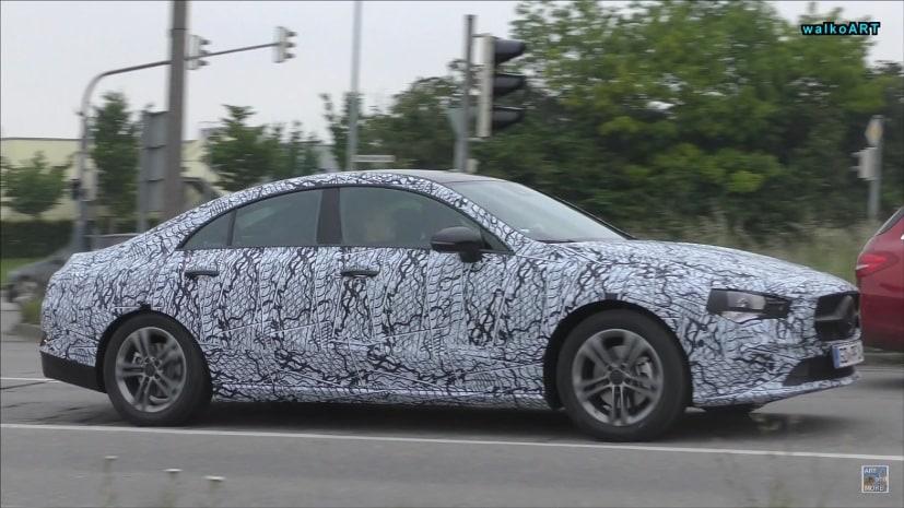 Next Gen Mercedes Benz Cla Spotted Testing Again Ndtv Carandbike