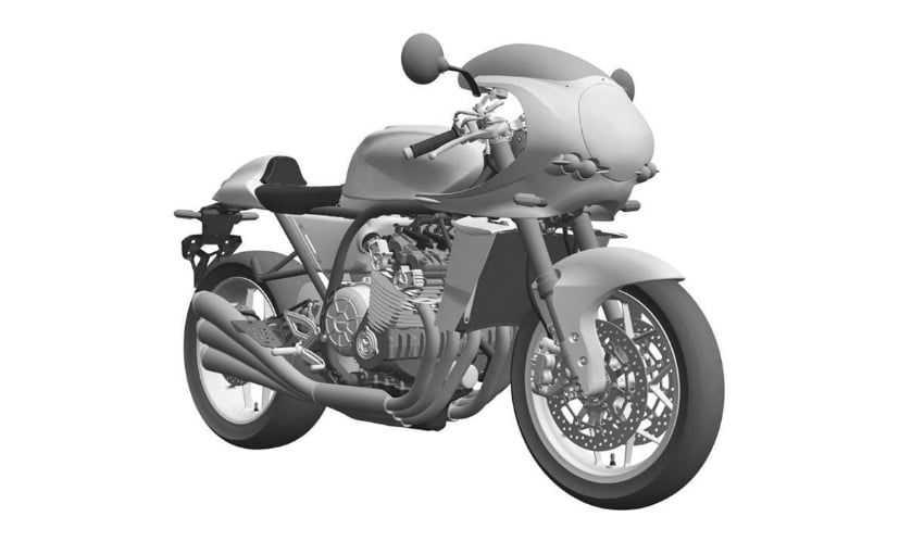 Honda has filed patent drawings for what seems like an upcoming retro-styled Honda CBX