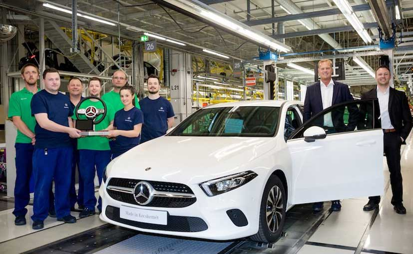 New Mercedes-Benz A-Class Production Starts At Second Plant In Hungary