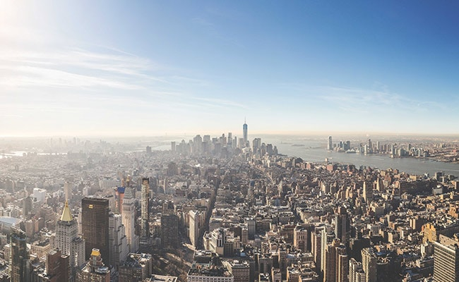 new york skyline unsplash