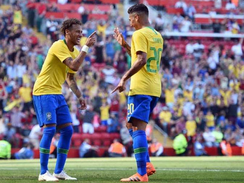 World Cup Friendly: Neymar Back With A Bang As Brazil Star Sinks Croatia