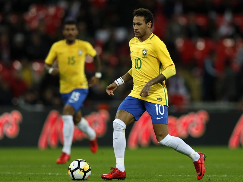 Neymar Headlines Brazils World Cup Team, Danilo Replaces Injured Dani Alves