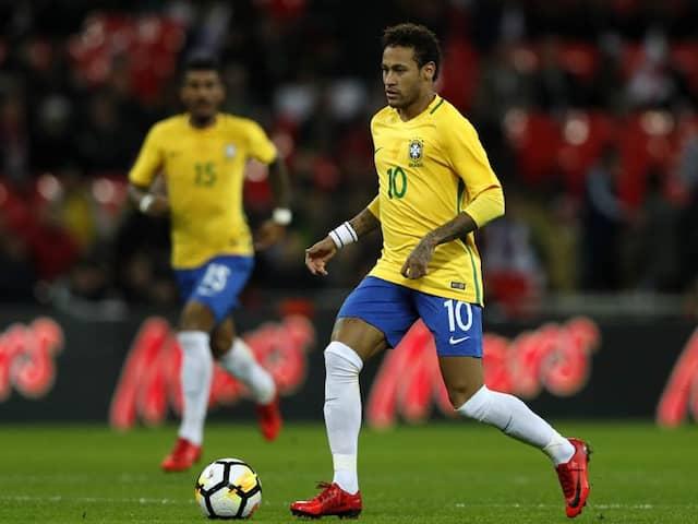 Neymar Headlines Brazils World Cup Team, Danilo Replaces Injured Dani Alves