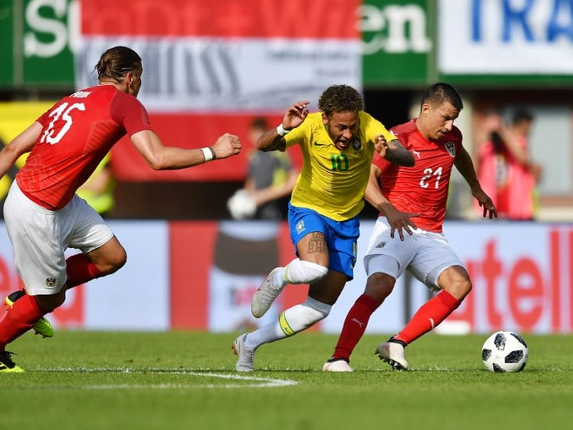 FIFA World Cup Warm-Up: Neymar On Target Again As Brazil Beat Austria