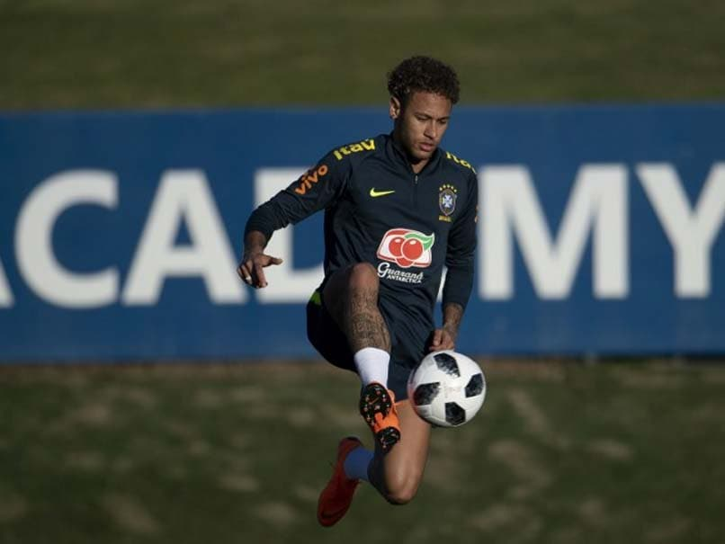 Neymar scores for Brazil on return from injury against Croatia