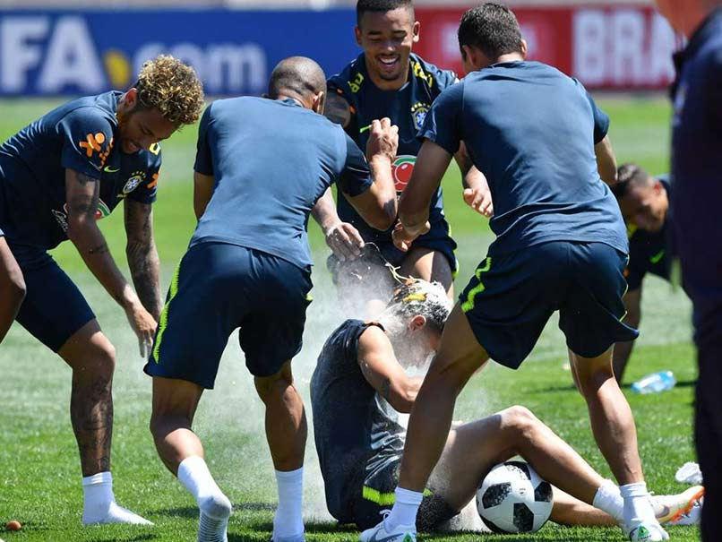 FIFA World Cup: Neymar Gives Philippe Coutinho The Treatment As The Latter Turns 26