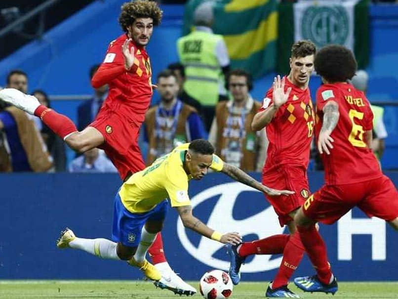 Watch: Neymar Escapes Yellow Card For Blatant Dive In Brazil vs Belgium Quarter-Final
