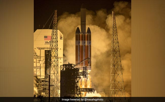 NASA Parker Solar Probe launches on mission to high-five the sun