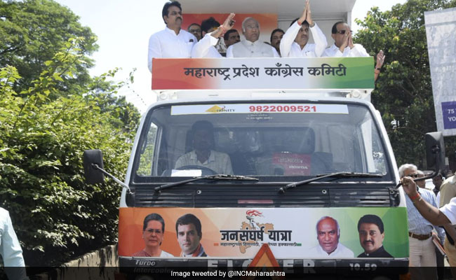 Congress Launches 'Jan Sangharsh Yatra' Against BJP Government