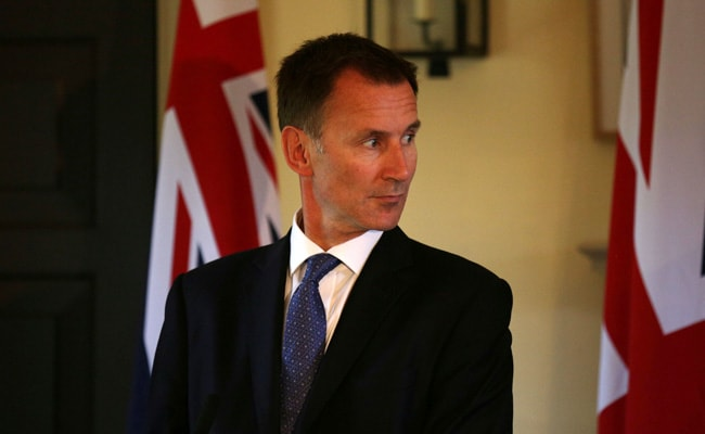 Jeremy Hunt meeting German foreign minister for Brexit talks in Berlin