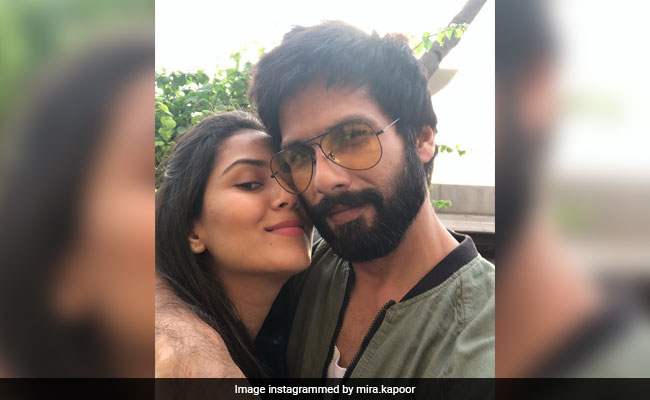 Shahid Kapoor And Mira Rajput's Instagram PDA Is So, So Adorable