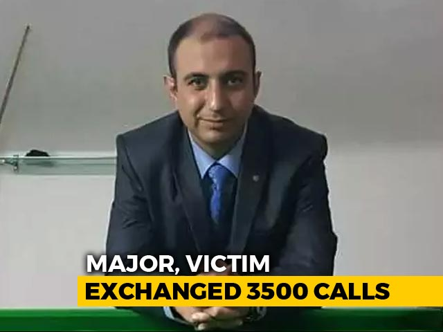 Video : 3,500 Calls In 6 Months Between Army Major, Woman He Allegedly Killed