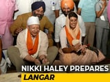 Video : On Delhi Gurudwara Visit, Nikki Haley Made <i>Roti</i> For <i>Langar</i>
