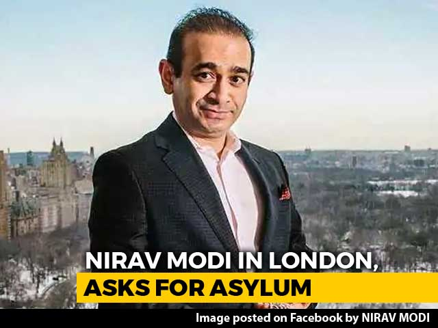 Video : Nirav Modi Seeks Political Asylum In UK Weeks After NDTV Report