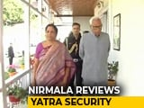 Video : Nirmala Sitharaman Reviews Amarnath Yatra Security Arrangements