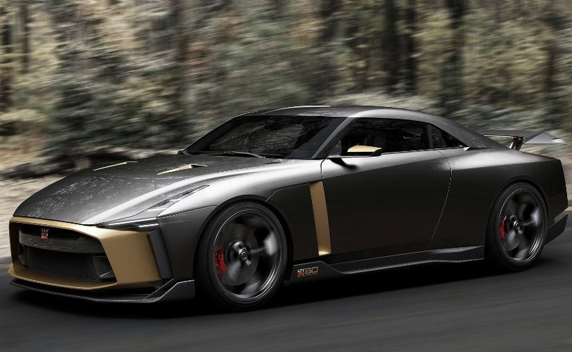 Nissan GT-R50 Italdesign Concept Showcased - NDTV CarAndBike