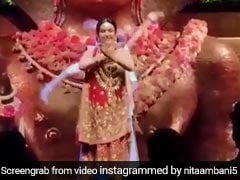 Watch Nita Ambani Dancing, Shloka Mehta Touching Isha's Feet