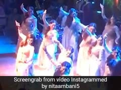 Nita Ambani's Special Performance At Akash-Shloka Engagement Bash. Watch