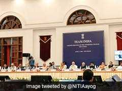 NITI Aayog Highlights: States Getting Over Rs 11 Lakh Crore From Centre - PM Modi