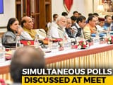 Video : At Centre's NITI Aayog Meet, One More Pitch For Simultaneous Elections