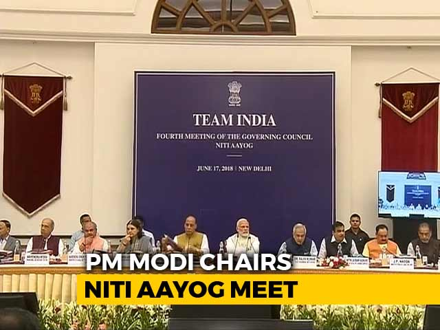 "Video : PM Modi Talks ""Team India"" Amid Attack From Chief Ministers"