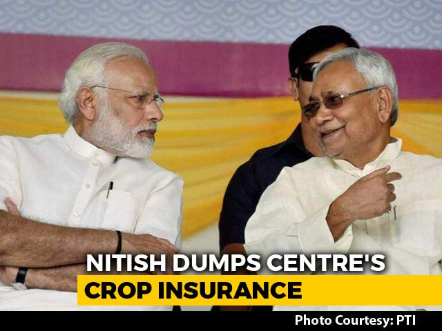Video : In Stinging Message To Centre, Nitish Kumar Crafts New Scheme For Farmers