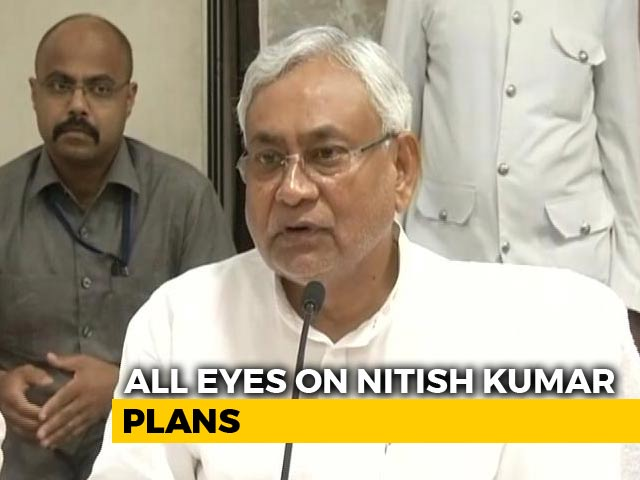 Video : Nitish Kumar's Party To Contest 4 State Polls On Its Own, Not With BJP