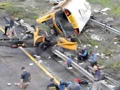 Two Dead, 43 Injured In New Jersey School Bus Torn Apart In Crash