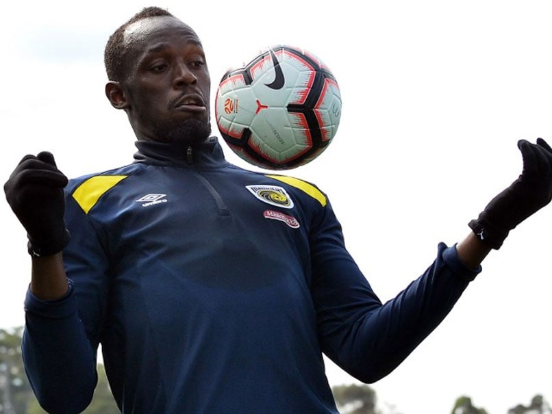 Nervous Usain Bolt Prepares For Football Debut  131ccb708