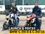 Video : BMW G 310 R And BMW G 310 GS Launched In India