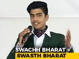 Video: Through A Powerful Recital, A Class XII Swachh Warrior Appeals For A Swachh India