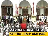 Video : Thousands At Karunanidhi Farewell, Burial Site Row In Court