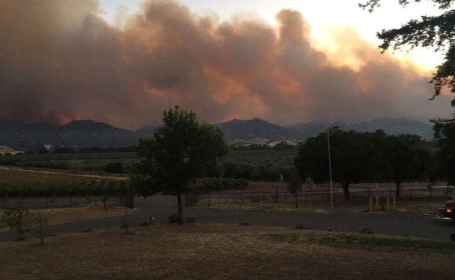 North California Wildfire Left Unchecked, Now Threatens Hundreds Of Homes