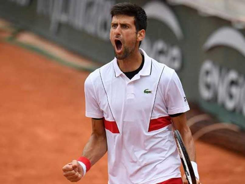 French Open 2018: Novak Djokovic Into Last 16 At Slam For 43rd Time